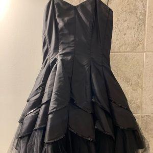 Little black masquerade dress